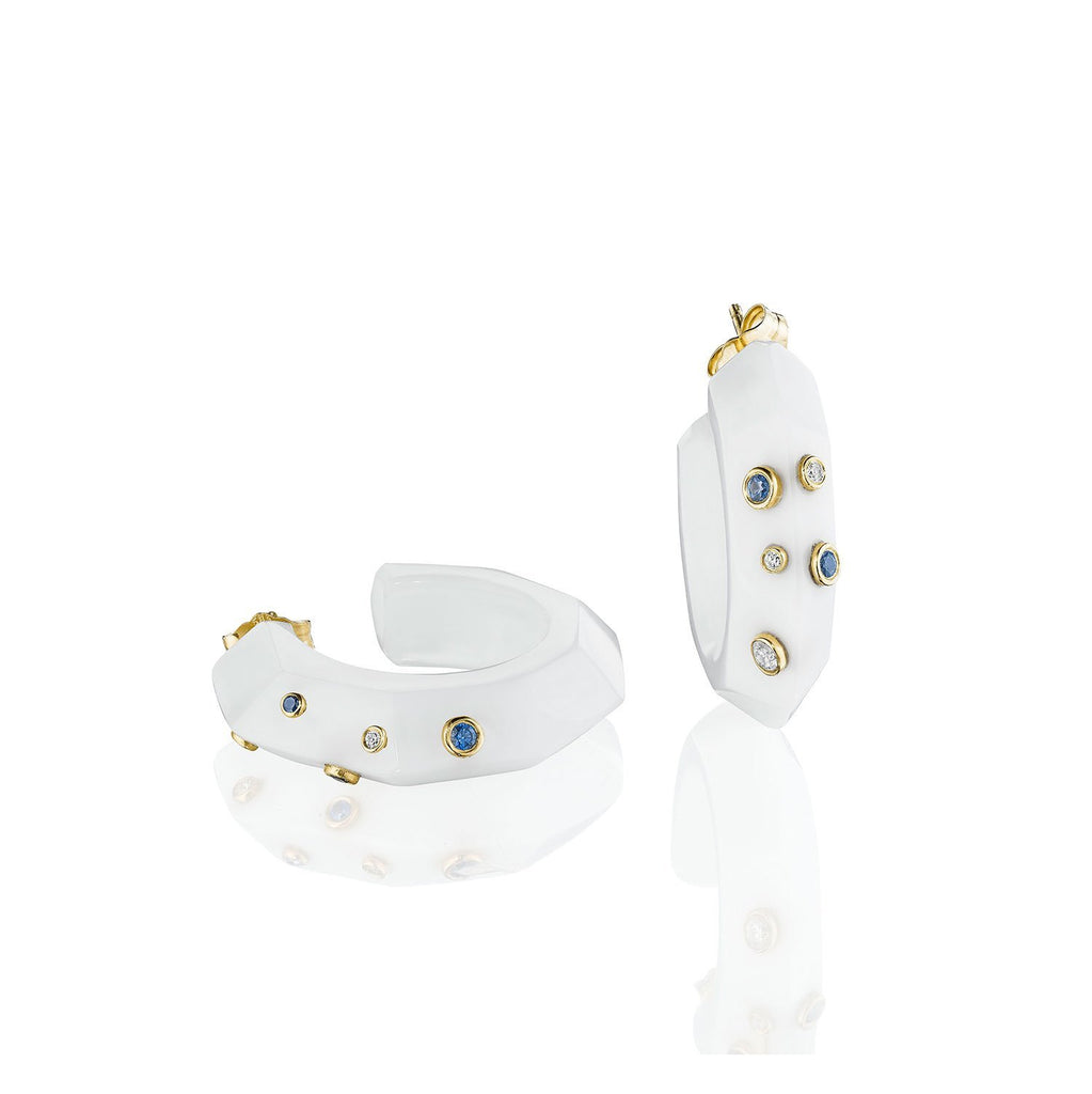 Bleeckerandprince_White_Onyx_Facet_Hoops_L