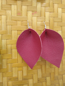 Leather Up-cycle Earrings