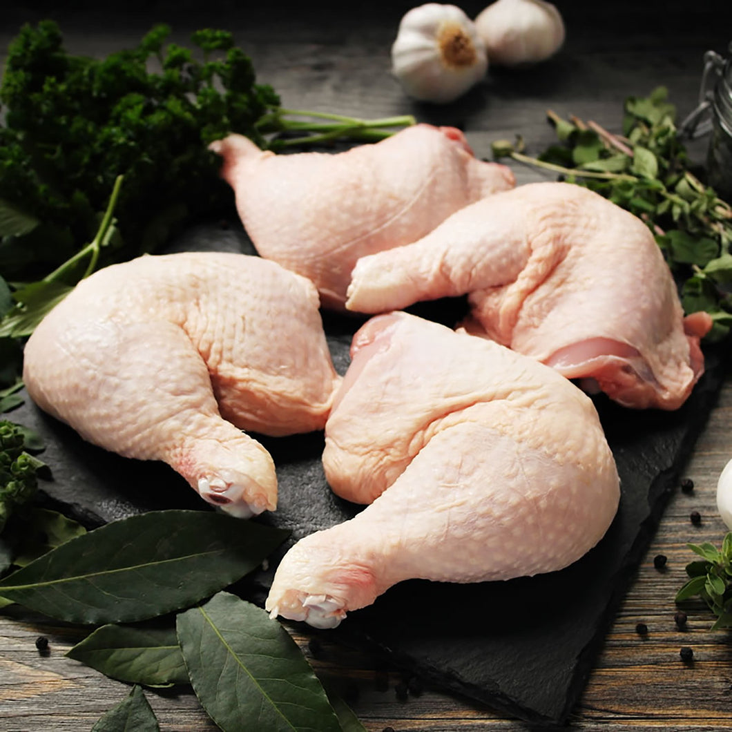 Free Range Herb Fed Chicken Whole Legs - 4 x 350g - thomas-joseph-butchery