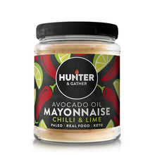 Load image into Gallery viewer, Hunter & Gather Avocado Chilli & Lime Mayonnaise - thomas-joseph-butchery