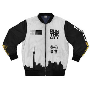 RUNTHECITY - Defuser Bomber Jacket