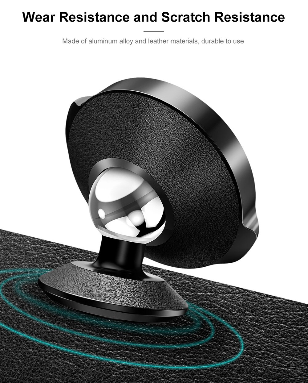 Small Ears Magnetic Bracket Car Mount | Black | Baseus supertech.pk