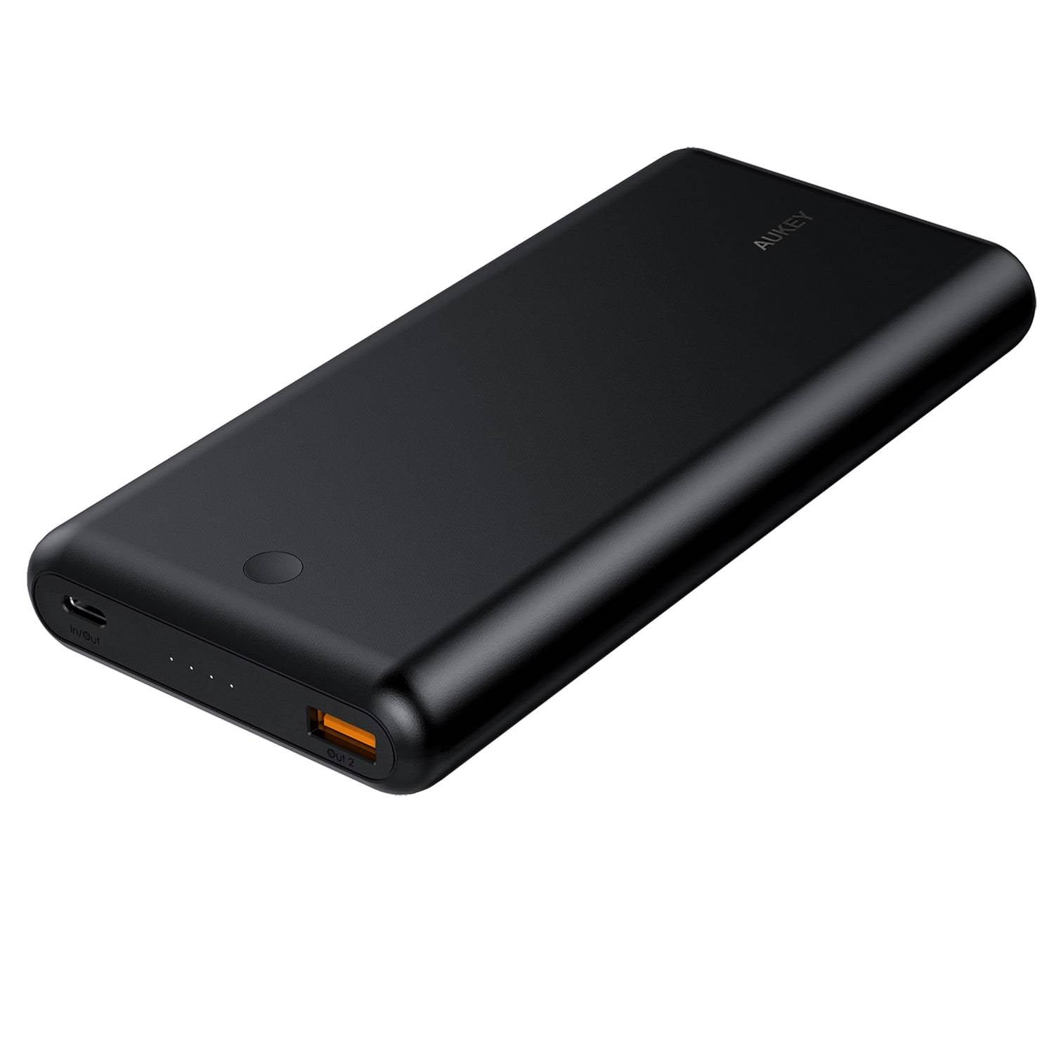 26800mAh 63W PD 3.0 USB C Power Bank With QC 3.0 | PB-XD26 | Black | Aukey supertech.pk