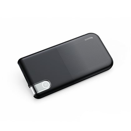 Thin Version Wireless Charge Power Bank 10,000mAh | Black | Baseus supertech.pk