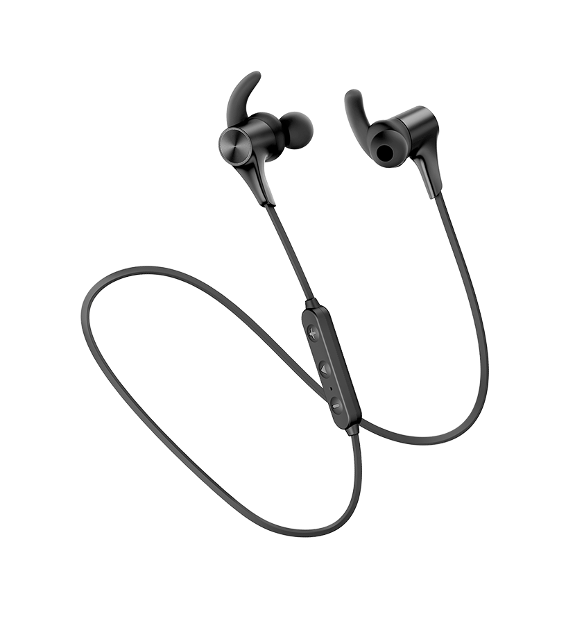 Bluetooth Earphones Q12 | Black | Soundpeats supertech.pk
