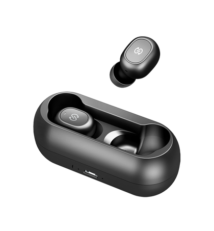 True Mini Earbuds - True Wireless Stereo | Black | Soundpeats supertech.pk