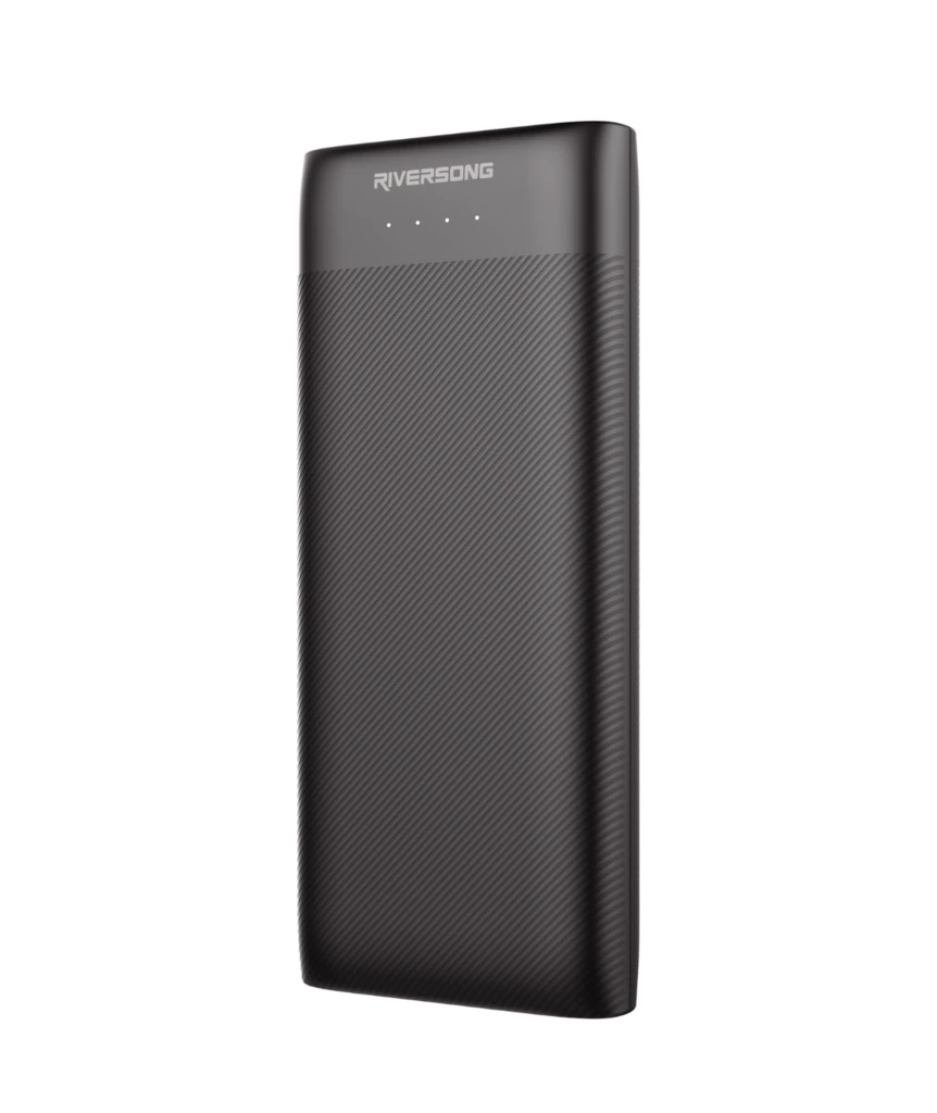 NEMO 15 PRO 15000mAh 3.0A Fast Charging Power Bank | Black | Riversong