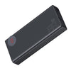 Mulight QC Digital Display 30000mAh Power Bank | Black | Baseus supertech.pk