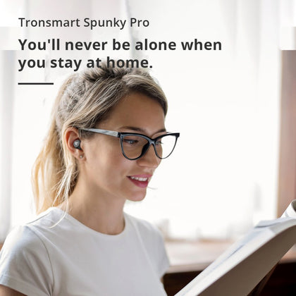 Spunky Pro True Wireless Bluetooth Headphones | Black | Tronsmart supertech.pk