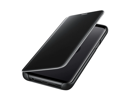 Galaxy S9 Clear View  Cover | Black | Samsung supertech.pk