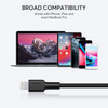 Impulse Braided USB-C to Lightning Cable 6.6ft | CB-CL2 | Black | Aukey supertech.pk