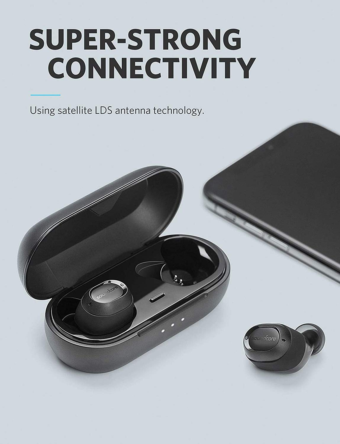 SoundCore Liberty Lite True Wireless Stereo | Black | Anker supertech.pk