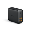 Focus Duo 36W Power Delivery Dual-Port PD USB C Charger with Dynamic Detect | PA-D2 | Black | Aukey supertech.pk
