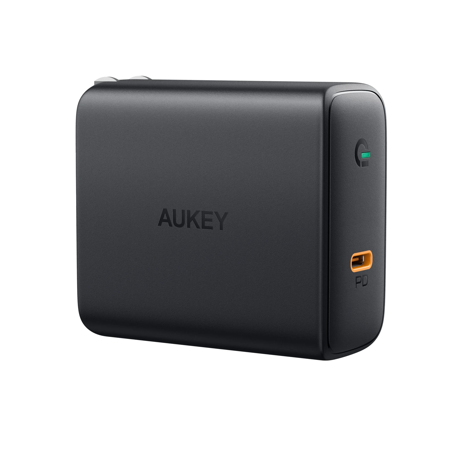 Focus 60W USB-C PD Charger with GaN Power Tech | PA-D4 | Black | Aukey supertech.pk