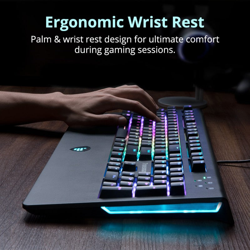 Tronsmart TK09R RGB Mechanical Gaming Keyboard | US Version | Tronsmart supertech.pk