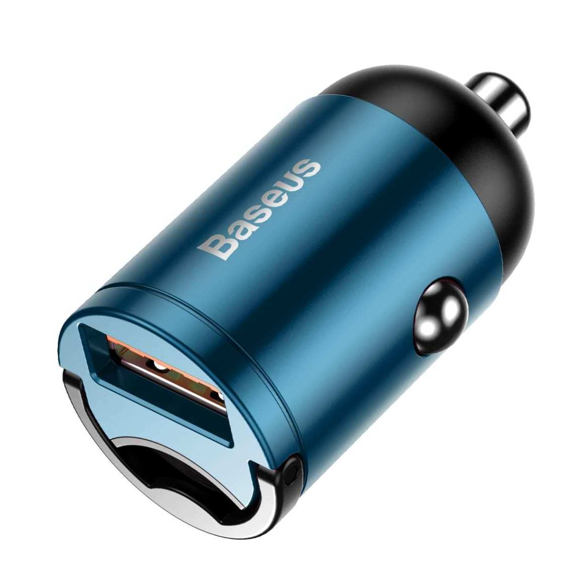 Tiny Star Mini Quick Charge Car Charger USB Port 30W | Blue | Baseus
