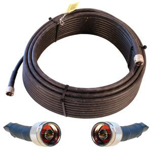 OPEK 75' FlexPro-400 Ultra Low Loss Coax Cable, Double Shielded and Solid Center Conductor (N Male - N Male Connectors)