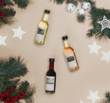 Load image into Gallery viewer, Christmas Tree Wine Advent Calendar Bottles