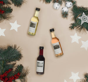 Christmas Tree Wine Advent Calendar Bottles