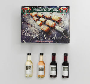 Christmas Tree Wine Advent Calendar 12 Pack