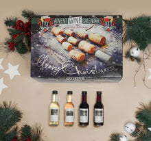 Load image into Gallery viewer, Christmas Tree Wine Advent Calendar 24 Pack