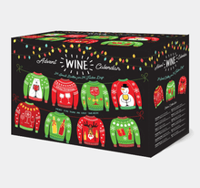 Load image into Gallery viewer, Holiday Sweater Wine Advent Calendar