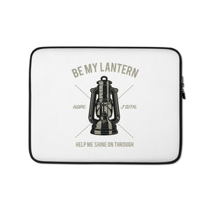 Open image in slideshow, Be My Lantern Laptop Sleeve
