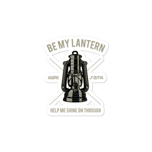 Open image in slideshow, Be My Lantern Bubble-free stickers