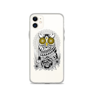 Open image in slideshow, Golden Eye's Owl iPhone Case