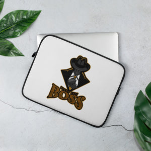 Open image in slideshow, Brown Belt Boss Laptop Sleeve