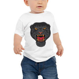 Open image in slideshow, American Traditional Panther Baby Jersey Short Sleeve Tee