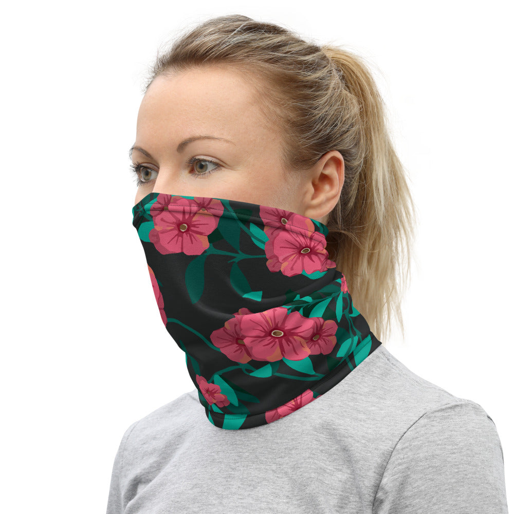 """Floral"" Neck Gaiter Face Mask"