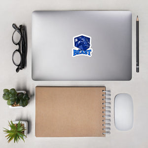 Open image in slideshow, Blue Belt Beast Bubble-free stickers