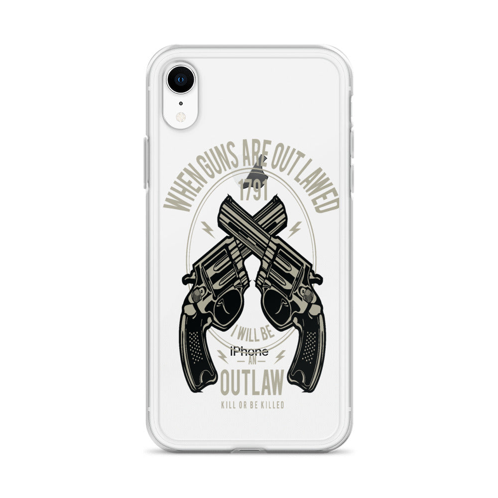 Outlaw iPhone Case