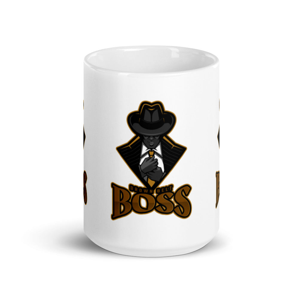 Brown Belt Boss Mug