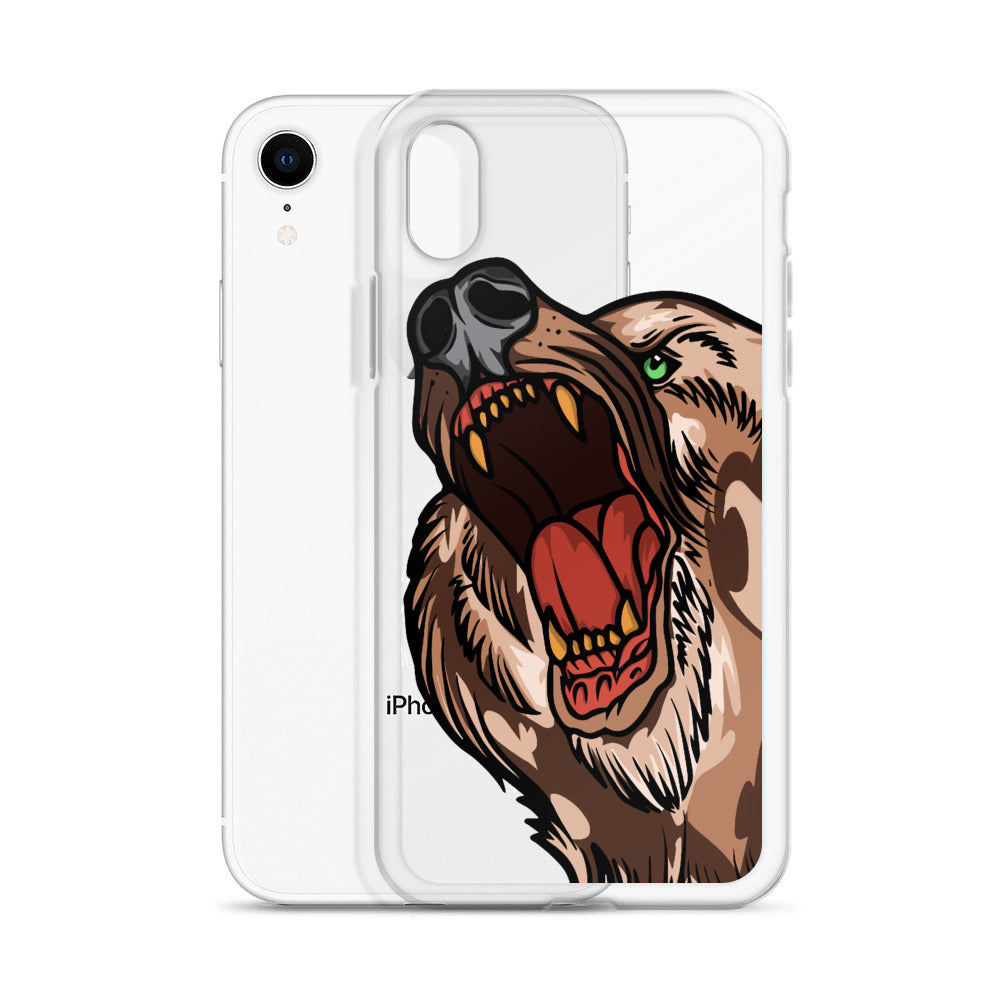 American Traditional Bear iPhone Case