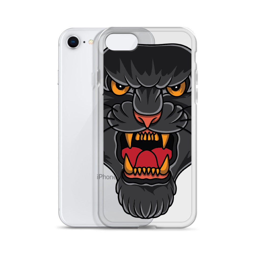 American Traditional Panther iPhone Case