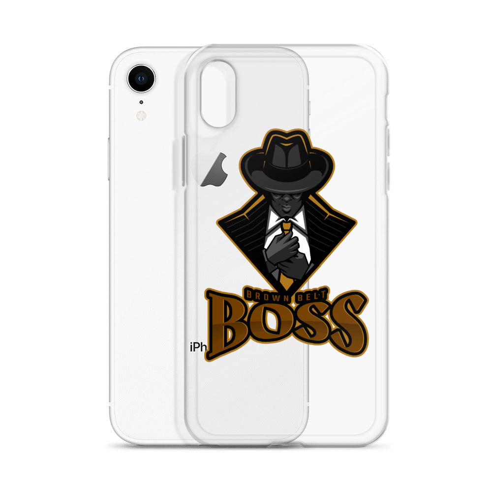 Brown Belt Boss iPhone Case