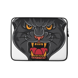 Open image in slideshow, American Traditional Panther Laptop Sleeve