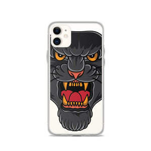 Open image in slideshow, American Traditional Panther iPhone Case