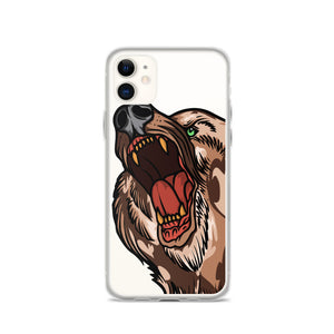Open image in slideshow, American Traditional Bear iPhone Case