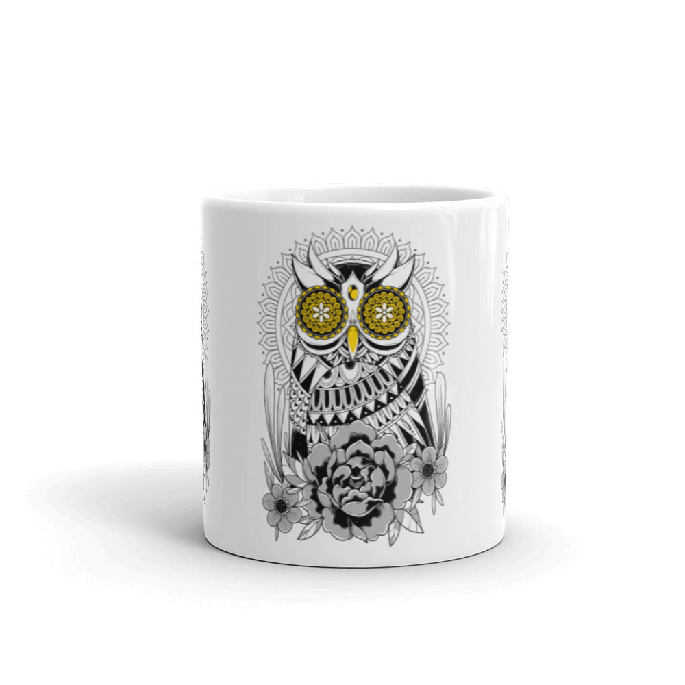 Golden Eye's Owl Mug