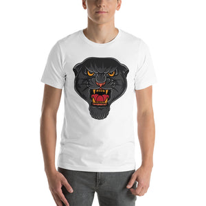 Open image in slideshow, American Traditional Panther T-Shirt
