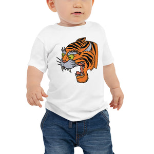 Open image in slideshow, American Traditional Tiger Baby Jersey Short Sleeve Tee