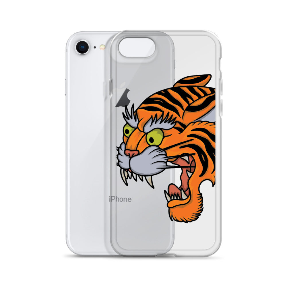 American Traditional Tiger iPhone Case
