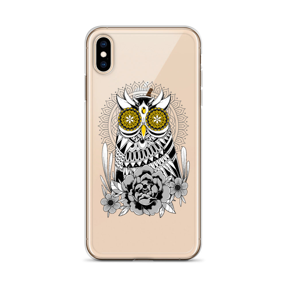 Golden Eye's Owl iPhone Case