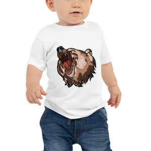 Open image in slideshow, American Traditional Bear Baby Jersey Short Sleeve Tee