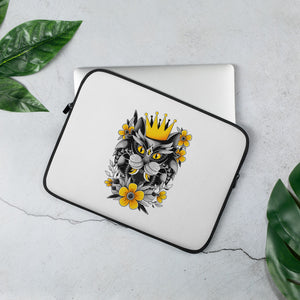 Open image in slideshow, King Of Purr Laptop Sleeve