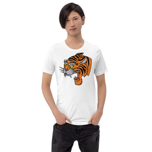 Open image in slideshow, American Traditional Tiger T-Shirt