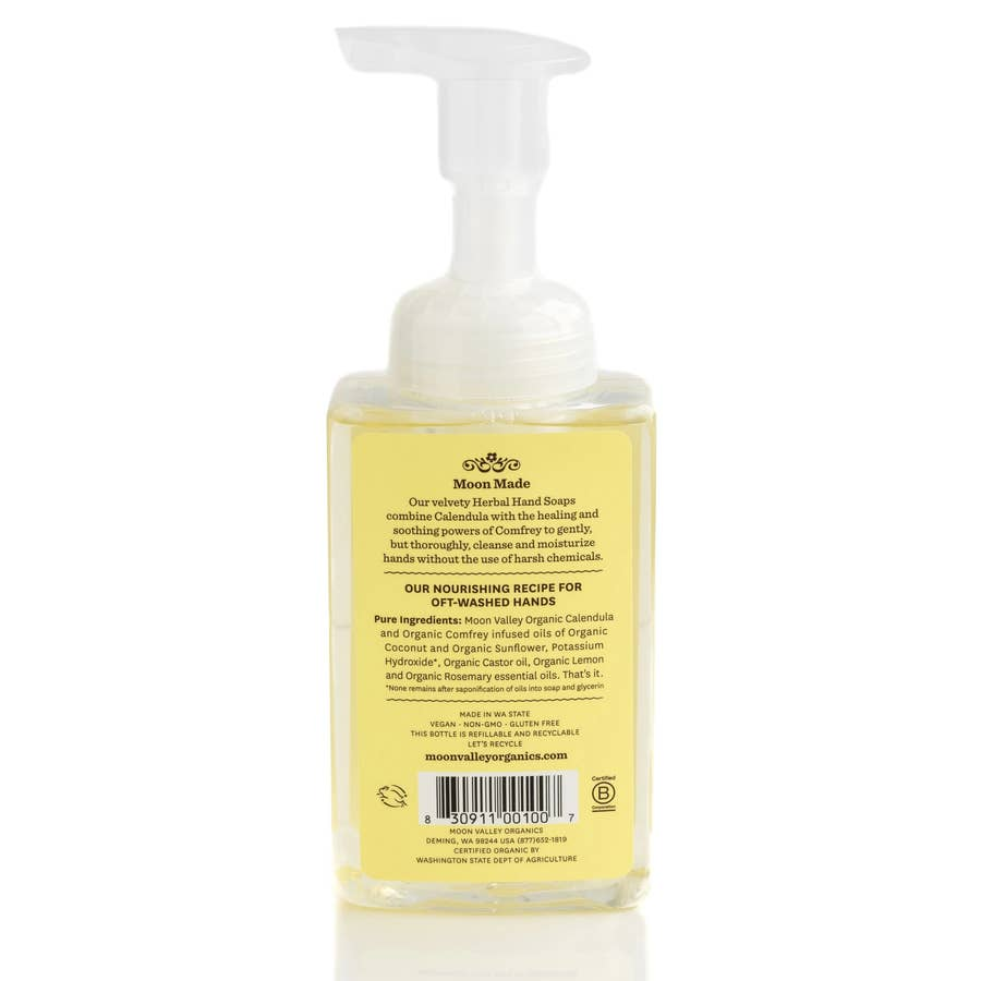 Moon Valley Organics foaming herbal hand soap